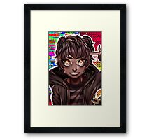 RS Rigby Framed Print