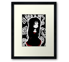 EMO- Apex Vagrant Girl Framed Print