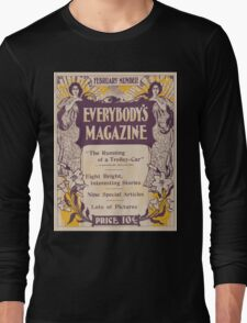 Artist Posters Everybody's magazine February number 0946 Long Sleeve T-Shirt