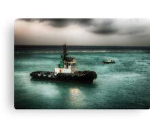 Port Authority - Good Morning Aruba  Canvas Print