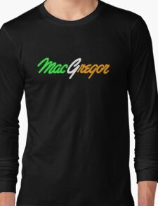 Conor McGregor UFC Long Sleeve T-Shirt