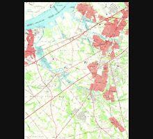 USGS TOPO Map New Jersey NJ Woodbury 255006 1967 24000 Unisex T-Shirt