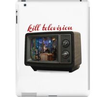 kill television iPad Case/Skin