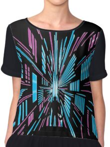 Tunnel to the Stars Chiffon Top