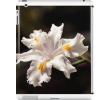 White Iris 2 iPad Case/Skin