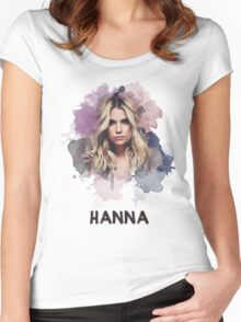 Hanna - Pretty Little Liars Women's Fitted Scoop T-Shirt