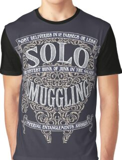 Solo Smuggling - Dark Graphic T-Shirt