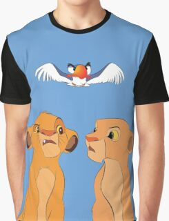 Simba & Nala Graphic T-Shirt