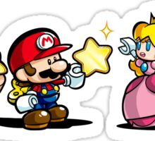 Donkey Kong Mario Peach and Luigi Sticker