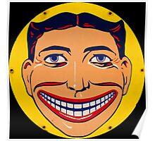 Steeplechase Psychedelic Smiling man Poster