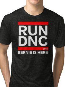 RUN DNC - Bernie Sanders parody shirt Tri-blend T-Shirt