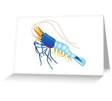 Scampi Greeting Card