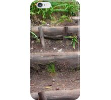 Forest foot path iPhone Case/Skin