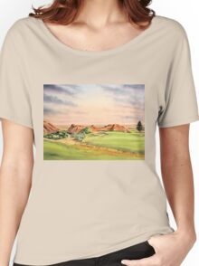 Arrowhead Golf Course Hole 3 Women's Relaxed Fit T-Shirt