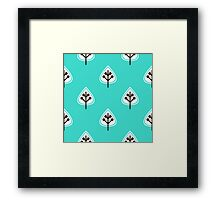 Crazy Nice leaves Collection Framed Print