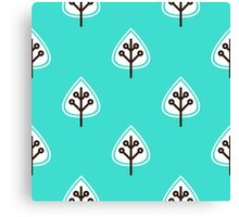 Crazy Nice leaves Collection Canvas Print