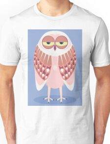 SLEEPY OWL Unisex T-Shirt