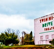 Vintage Drive-In Theater Sticker