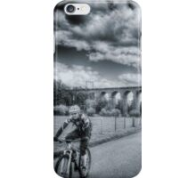 Digswell Viaduct Cyclist iPhone Case/Skin