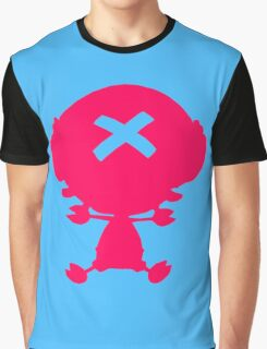 One Piece - Chopper (Pink) Graphic T-Shirt