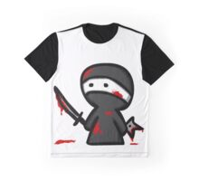 EMO- Chibi Ninja Graphic T-Shirt