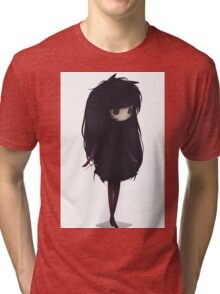 EMO- Korean Fashion Style Tri-blend T-Shirt