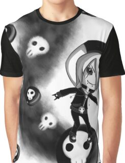 EMO- Skull Walker Graphic T-Shirt