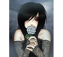EMO- Wilted Dead Rose Photographic Print