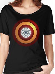 Stark Arc & Shield Women's Relaxed Fit T-Shirt