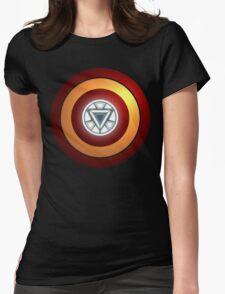 Stark Arc & Shield Womens Fitted T-Shirt