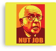 Bernie-Nut Job Canvas Print