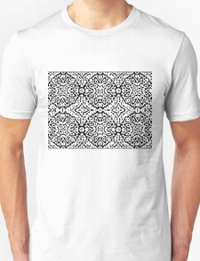 Black and White Puffs Unisex T-Shirt