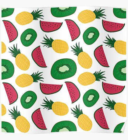 Fruit Repeat Poster