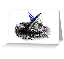 Party Great White Greeting Card