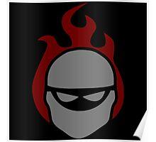 Ninja Emblem Poster