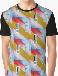 Stripes and Windows  Graphic T-Shirt