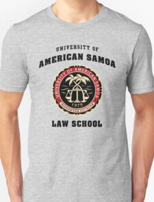 Law American Samoa University T-Shirt