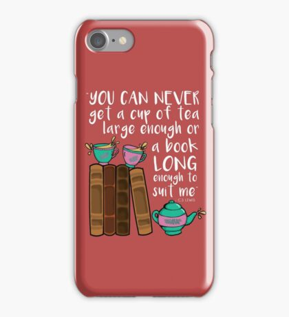 Books & Tea  iPhone Case/Skin