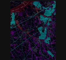 USGS TOPO Map New Jersey NJ Woodbury 255006 1967 24000 Inverted Unisex T-Shirt