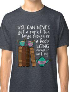 Books & Tea  Classic T-Shirt