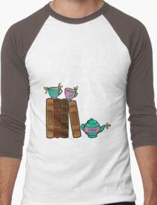 Books & Tea  Men's Baseball ¾ T-Shirt
