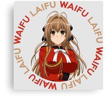 Waifu Laifu Anime Manga Shirt Canvas Print