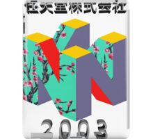 nintendo 2003 iPad Case/Skin