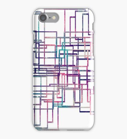 Unique modern elegant line iPhone Case/Skin