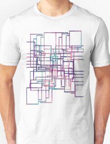 Unique modern elegant line Unisex T-Shirt