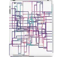 Unique modern elegant line iPad Case/Skin