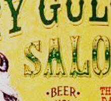 Dry Gulch Saloon Sticker