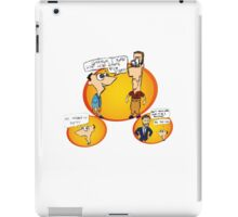 Timothy and Grayson iPad Case/Skin