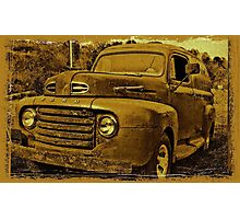 """Momma's Ford""... prints and products  Photographic Print"
