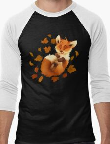 Playful Fox Men's Baseball ¾ T-Shirt